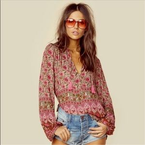 Spell & The Gypsy  | 'Kombi' Boho Blouse in Spice